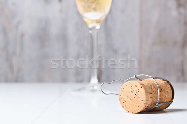 Stock photo: Champagne cork