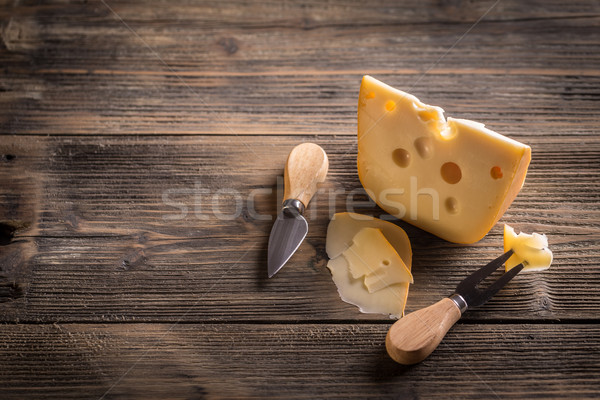 Cheese Stock photo © grafvision