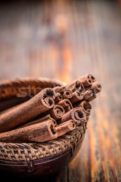 корицей ароматный пить Sweet объекты здорового Сток-фото © grafvision