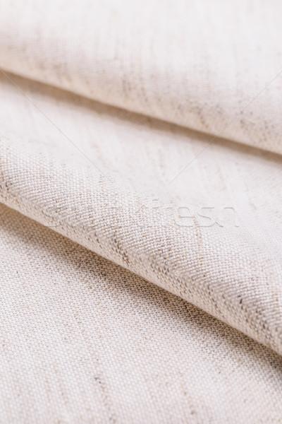Pasztell vászon szövet textúra közelkép részlet Stock fotó © grafvision