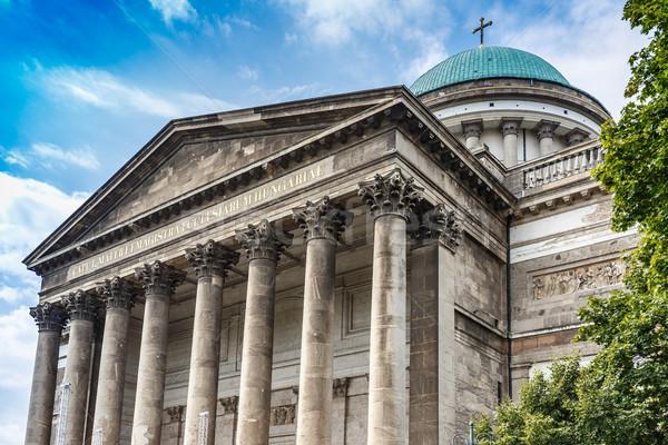 Bazilika részlet gyönyörű épület tető történelem Stock fotó © grafvision
