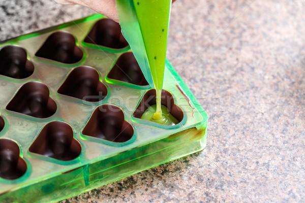 Homemade chocolate Stock photo © grafvision