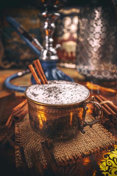 Delicious chai latte Stock photo © grafvision