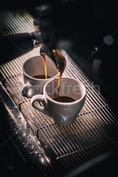 автоматический кофеварка машина службе свежие качество Сток-фото © grafvision