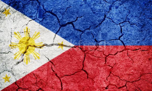 République Philippines pavillon sécher terre sol Photo stock © grafvision