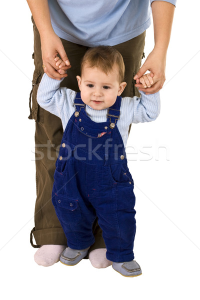 boy learn to walk Stock photo © grafvision