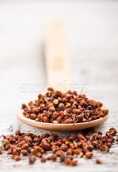Sichuan pepper Stock photo © grafvision