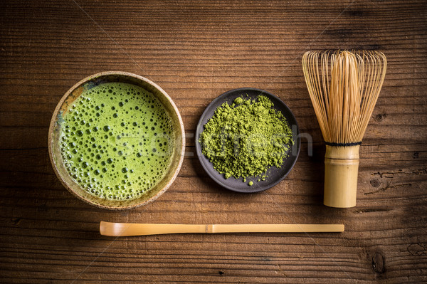 Japanese tea ceremony setting Stock photo © grafvision