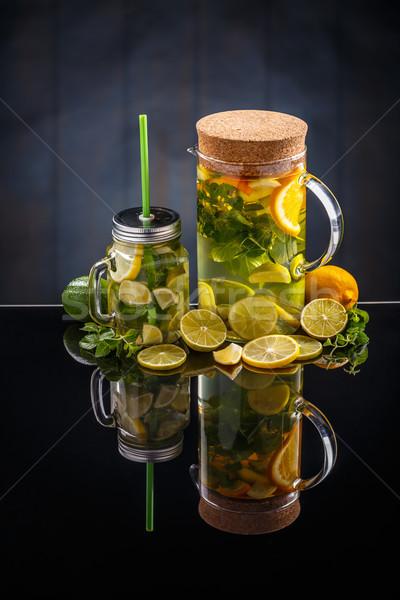 Citrus lemonade water Stock photo © grafvision