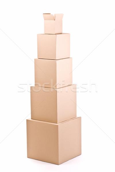 cardboard boxes Stock photo © grafvision