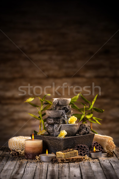 Stock photo: Spa and wellness concept