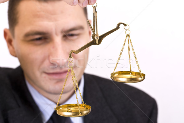 business man Stock photo © grafvision