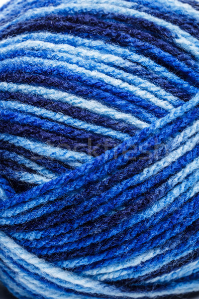Blue wool yarn Stock photo © grafvision