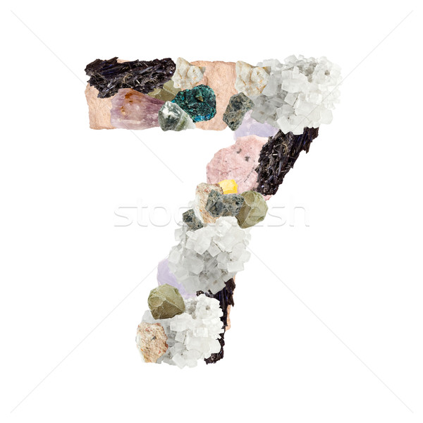 Stock photo: Minerals number