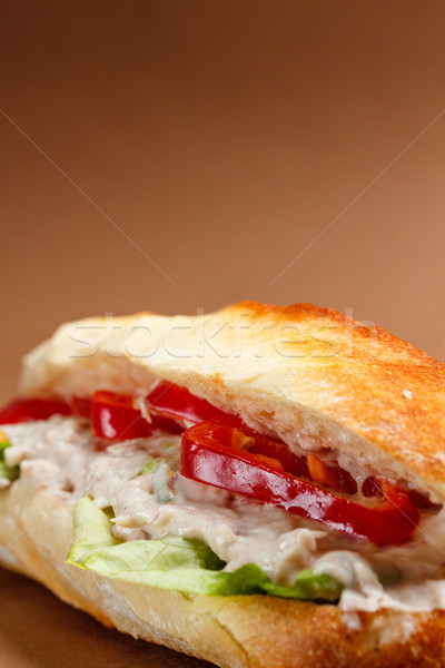 Tuna sandwich  Stock photo © grafvision