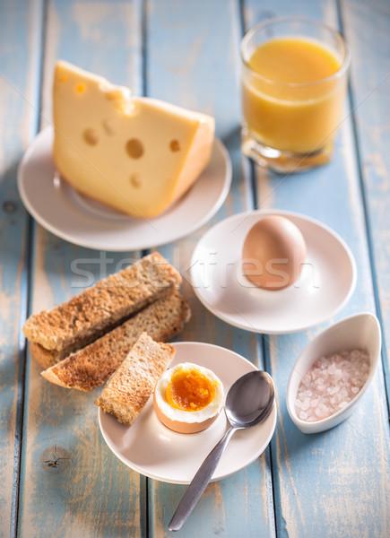 Boiled egg  Stock photo © grafvision