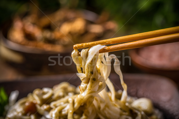 Thai noodles  Stock photo © grafvision