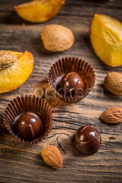 Chocolate bonbon  Stock photo © grafvision