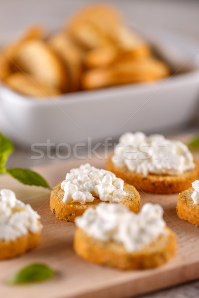 Tasty savory appetizers Stock photo © grafvision