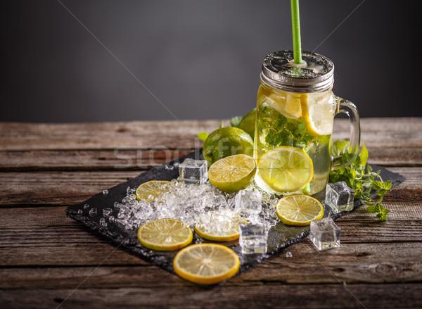 Refreshing summer lemonade  Stock photo © grafvision