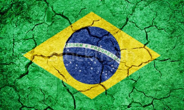 共和国 ブラジル フラグ 地球 地上 ストックフォト © grafvision