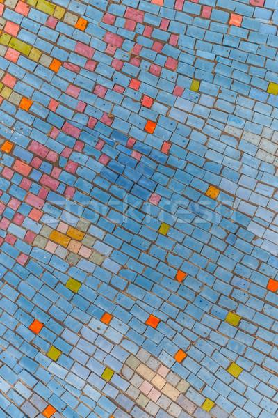Colorful ceramic background Stock photo © grafvision