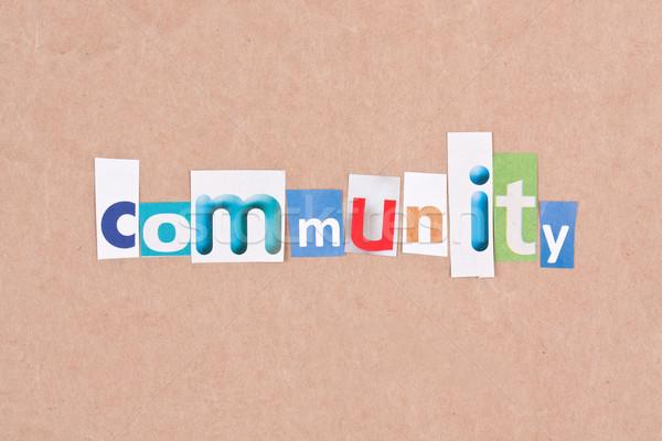 Community Stock photo © grafvision