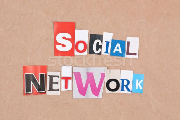 Social network Stock photo © grafvision