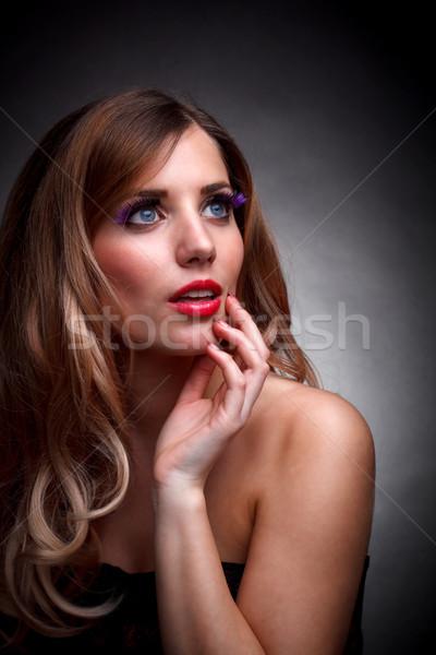 Fashion girl Stock photo © grafvision