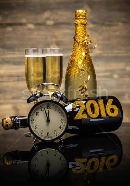 2016 New Year concept  Stock photo © grafvision