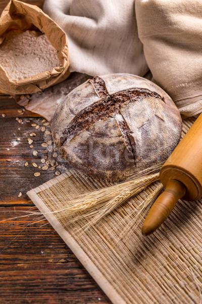 Bread Stock photo © grafvision