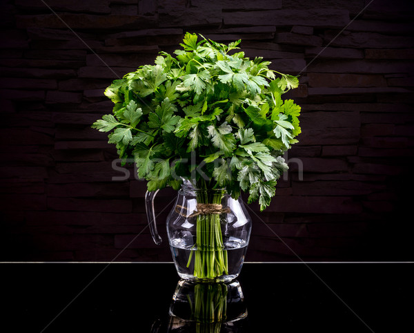 Fresh green parsley Stock photo © grafvision