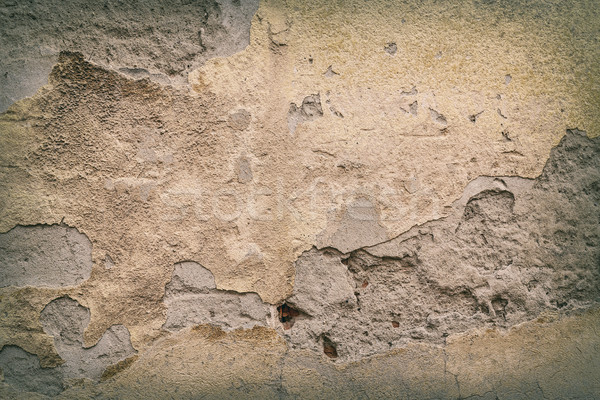 öreg tapasz fal textúra absztrakt háttér Stock fotó © grafvision
