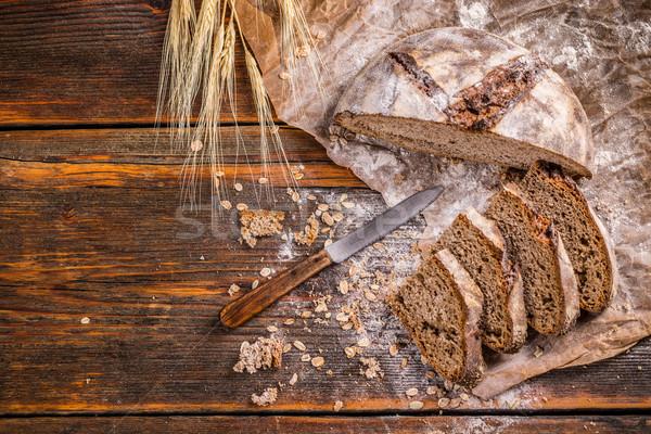 Stock photo: Artisan bread
