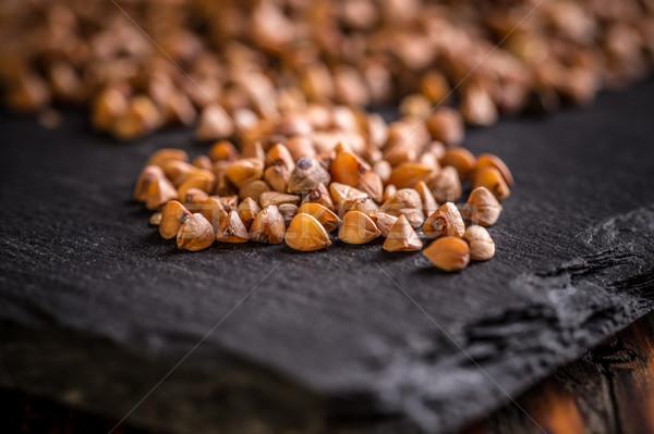 Buckwheat seeds  Stock photo © grafvision