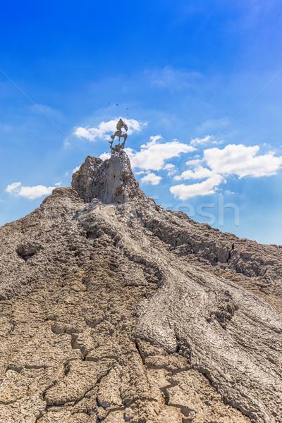 Ativo lama natureza montanha viajar Foto stock © grafvision