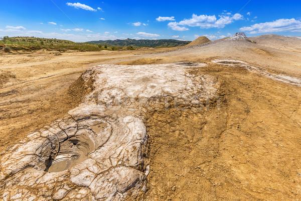 Ativo lama estranho paisagem natureza montanha Foto stock © grafvision