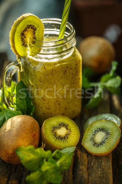 Healthy organic drink Stock photo © grafvision