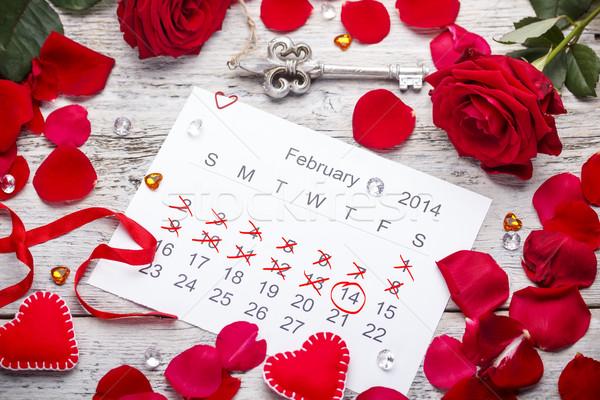 Calendar page Stock photo © grafvision