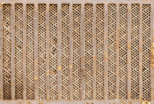 Metal plaka doku rustik arka plan duvar kağıdı Stok fotoğraf © grafvision