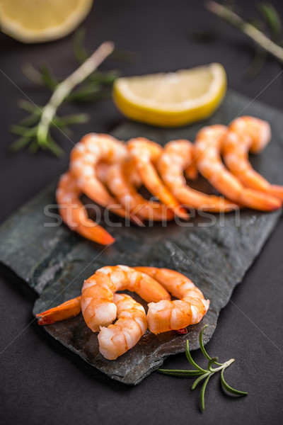Shrimps, prawns  Stock photo © grafvision