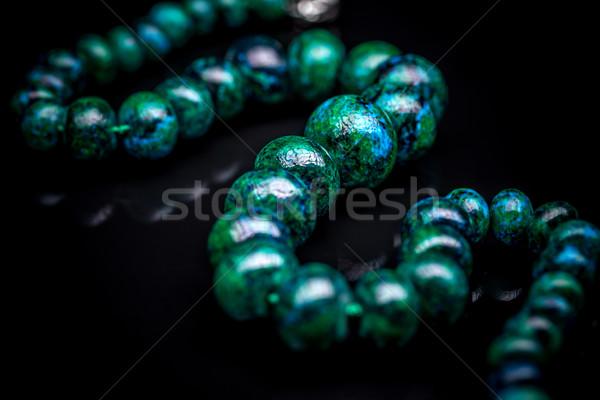 Sieczka projektu zielone niebieski obiektów jasne Zdjęcia stock © grafvision
