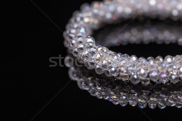 Bracelet faible verre pierres femme beauté Photo stock © grafvision