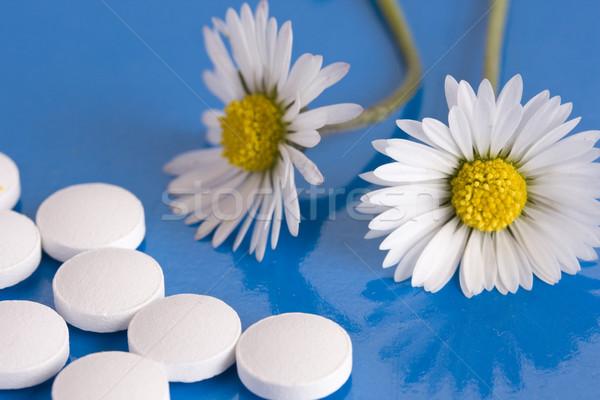 Homöopathische Gesundheit Wissenschaft Pille Stock foto © grafvision