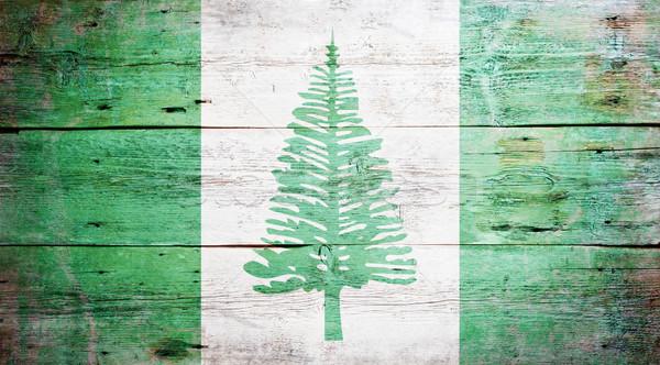 Flag of Norfolk Island Stock photo © grafvision