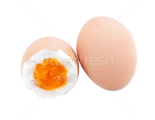 Shell boiled egg Stock photo © grafvision