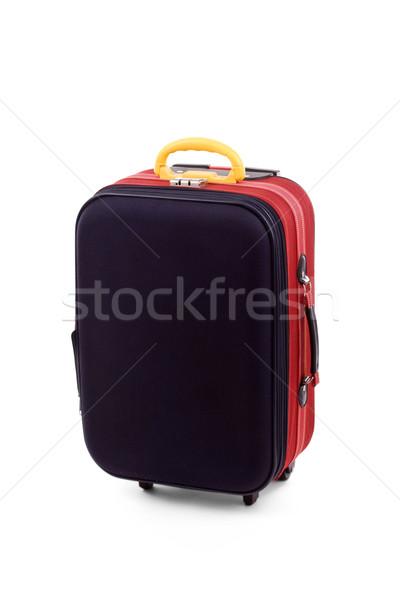 Valigia isolato bianco business aeroporto valigetta Foto d'archivio © grafvision