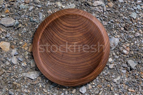 Wooden bowl  Stock photo © grafvision