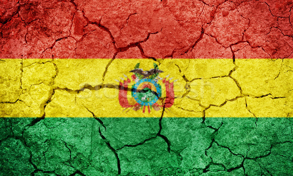 ボリビア フラグ 地球 地上 テクスチャ ストックフォト © grafvision