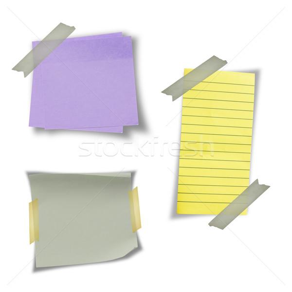 note paper Stock photo © grafvision